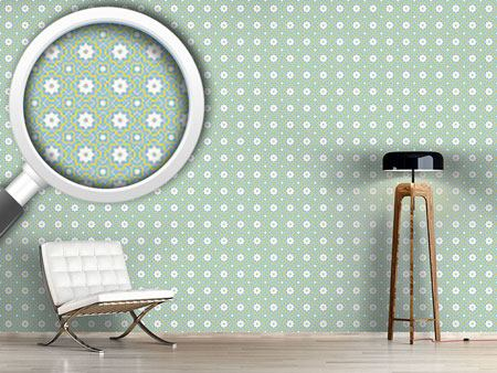 Design Wallpaper Quatrefoil Connection