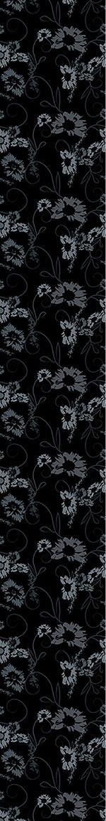 Papier peint design The Garden Nero