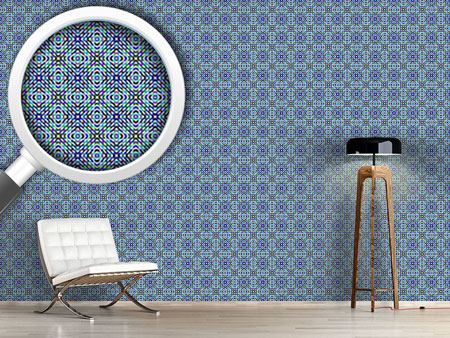 Design Wallpaper Iridescent Mosaic