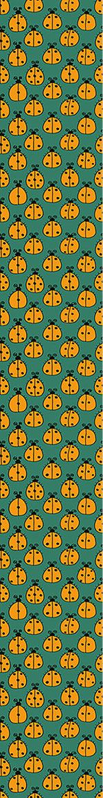 Design Wallpaper Counting Ladybugs