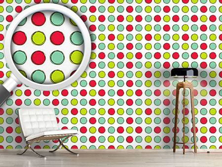 Design Wallpaper Game Board With Circles