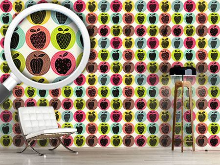Design Wallpaper An Apple A Day