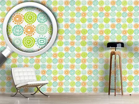 Design Wallpaper Sunshine Doilies
