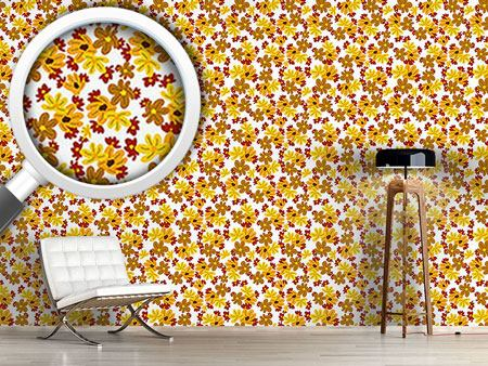 Design Wallpaper The Flowers Fall
