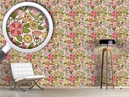 Design Wallpaper The Secret Fantasy Garden