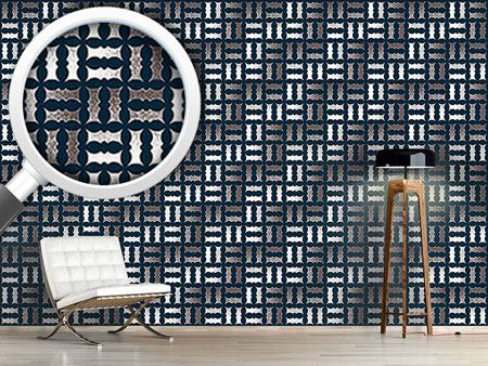 Design Wallpaper Pointilized Weave