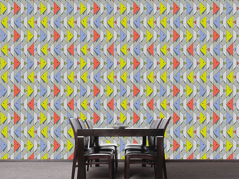 Design Wallpaper Paper Fish
