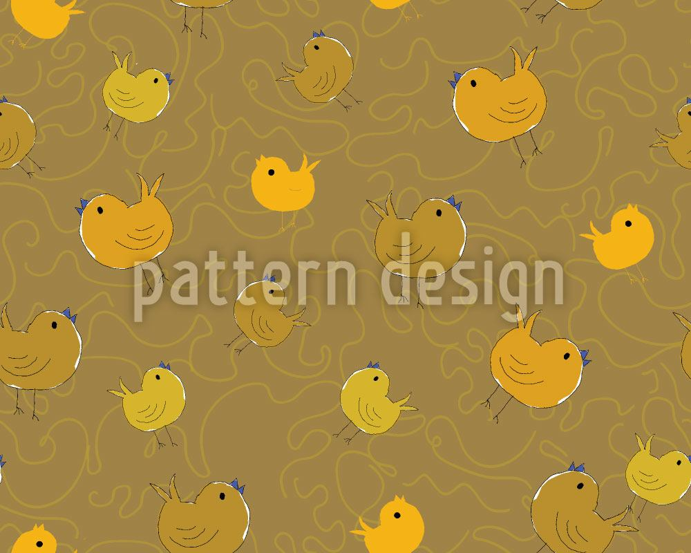 Design Wallpaper Chick Party