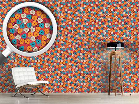 Design Wallpaper Felicidad Floral