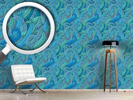 Design Wallpaper Seaweed Comic