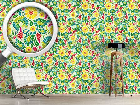 Design Wallpaper Polish Flower Dream