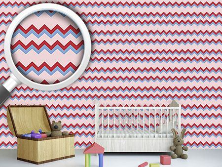 Design Wallpaper Tasty Zigzag