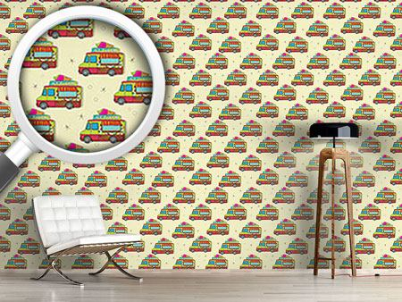 Design Wallpaper The Journey Of The Ice Cream Truck