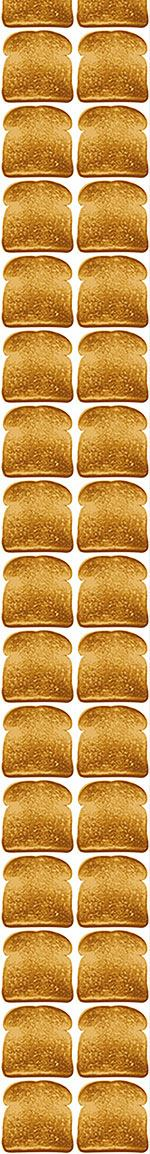 Papier peint design Toast In The Morning