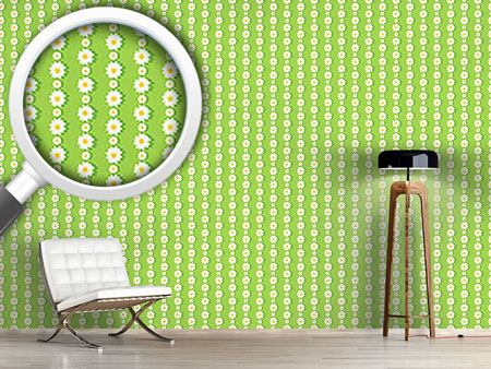 Design Wallpaper Daisies In Chaines