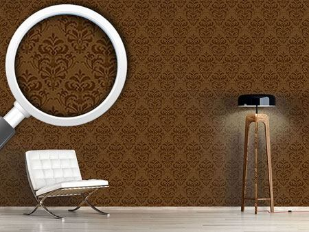 Papier peint design Chocolate Baroque