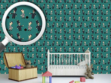 Design Wallpaper The Policeman And His Convict