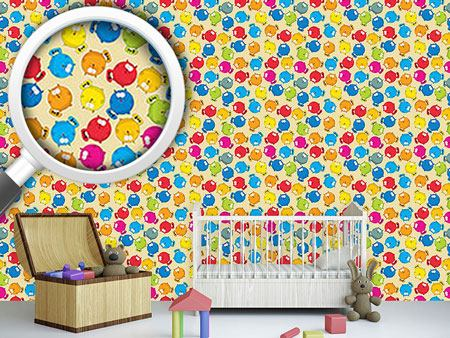 Design Wallpaper Tubby Cats
