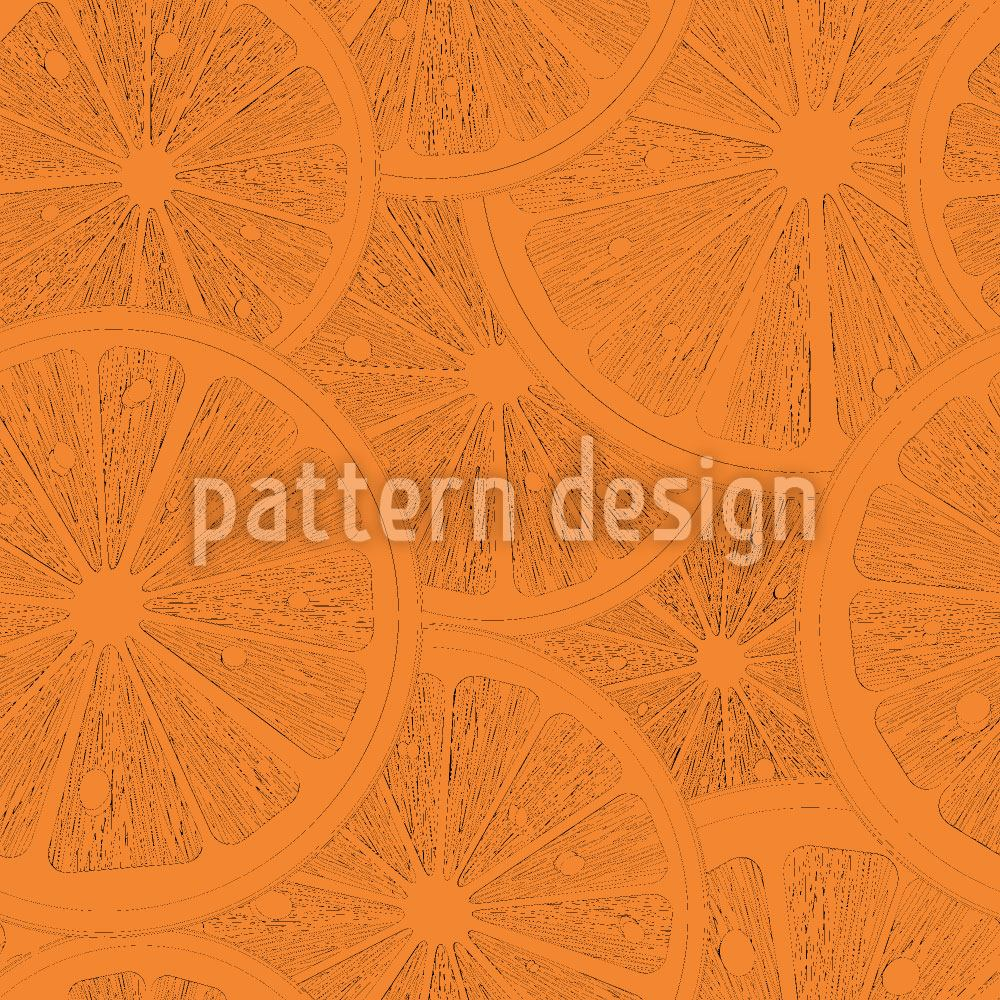 Designtapete Leckere Grapefruits