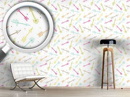 Design Wallpaper Cupids Darts
