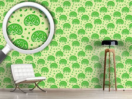 Design Wallpaper Apple Tree And Worm