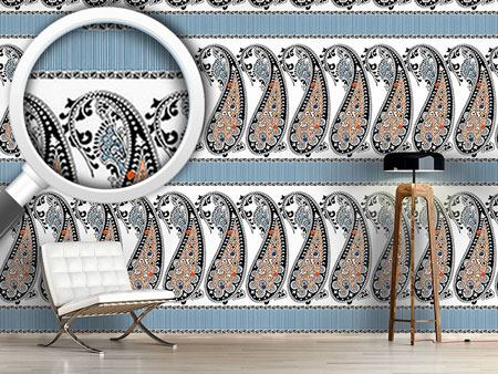 Design Wallpaper Paisley Beauties
