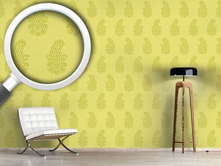 Design Wallpaper Paisley Spring