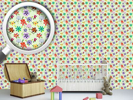 Design Wallpaper Kashmiras Flowers