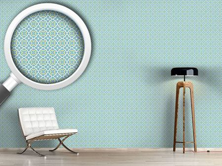 Design Wallpaper Quatrefoil In Spring