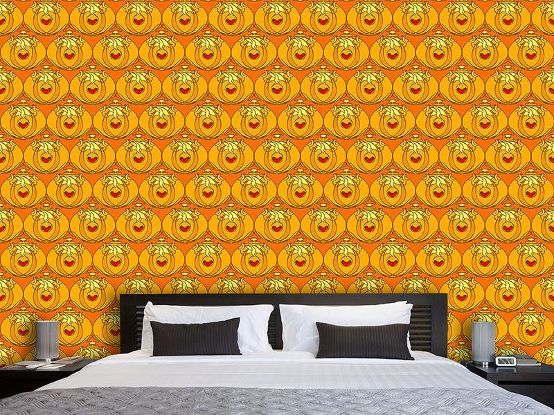Design Wallpaper Art Nouveau Flacon