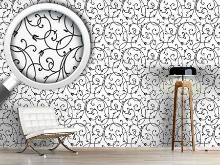 Design Wallpaper Delicate Flourish