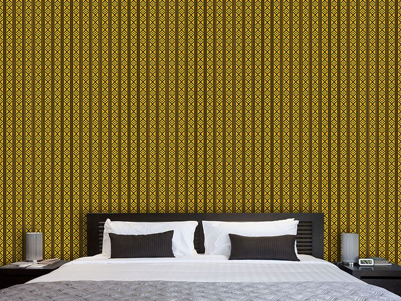 Design Wallpaper Stitch And Stripe