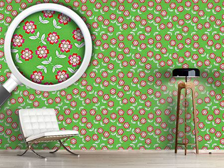 Design Wallpaper Summer Flowers Bring Joy