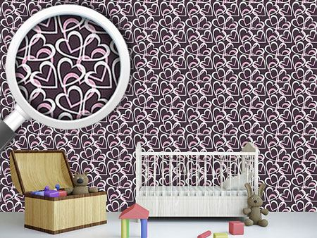 Design Wallpaper Flourish Heart