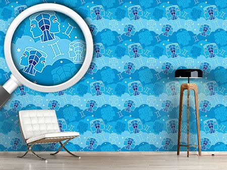 Design Wallpaper Born In Gemini Sign