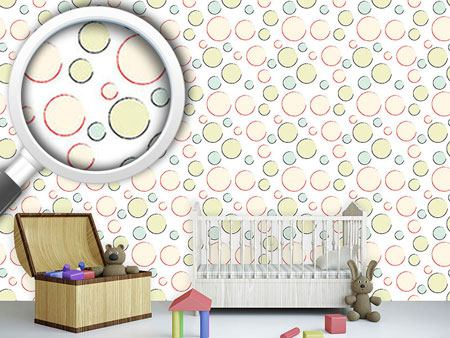 Design Wallpaper Bubble Circles