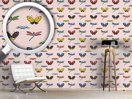 Design Wallpaper Butterfly Magic