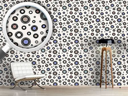 Design Wallpaper Flying Saucers