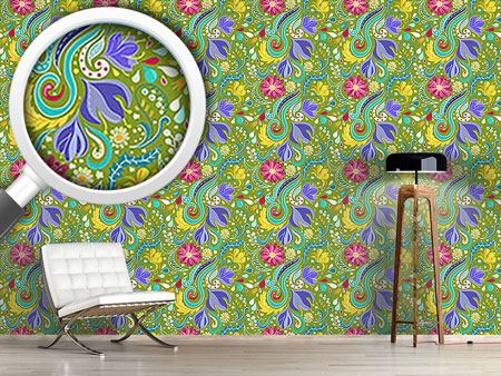 Design Wallpaper Fantasy Flora