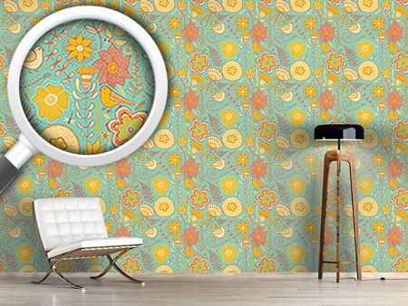 Design Wallpaper Birds Paradise