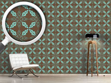 Design Wallpaper Moroccan Mint
