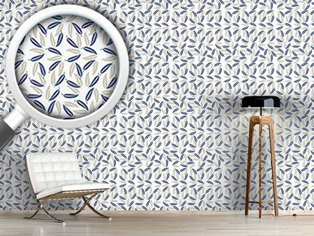 Design Wallpaper Hawaiian Leaves
