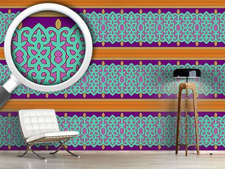 Design Wallpaper Oriental Border