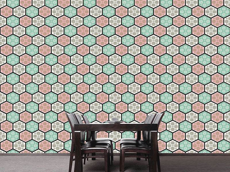 Design Wallpaper Japanese Tiles