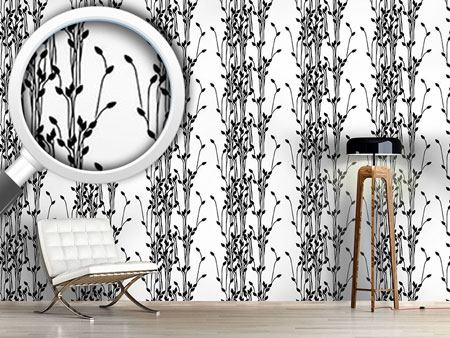 Design Wallpaper Twig Silhouettes