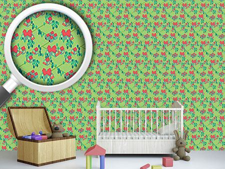 Design Wallpaper Cartoon Suburbia
