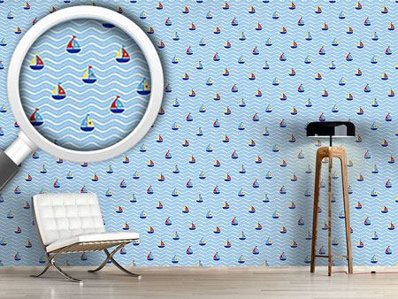 Design Wallpaper Tiny Sails