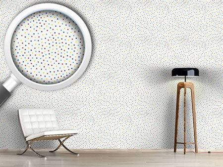Design Wallpaper Confetti Dots