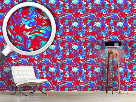 Design Wallpaper Floral Thicket