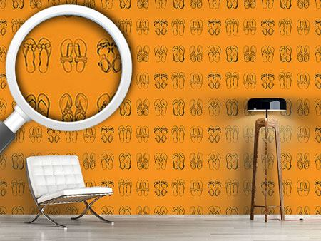 Design Wallpaper I Only Wear Sandals